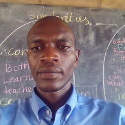 Founder and director of Kigali peace club
