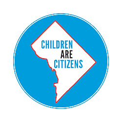 A student from a past project--a line that became the sub-title of a Children Are Citizens book