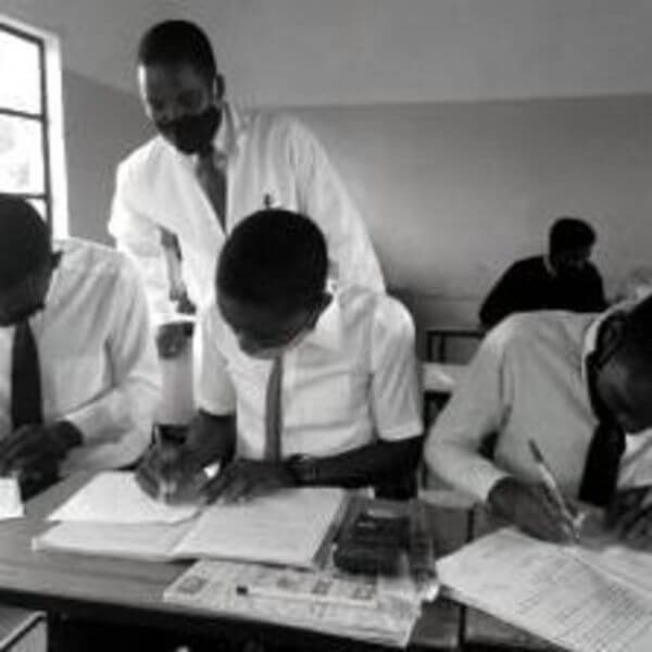 Festus Manda, Teacher, Zambia