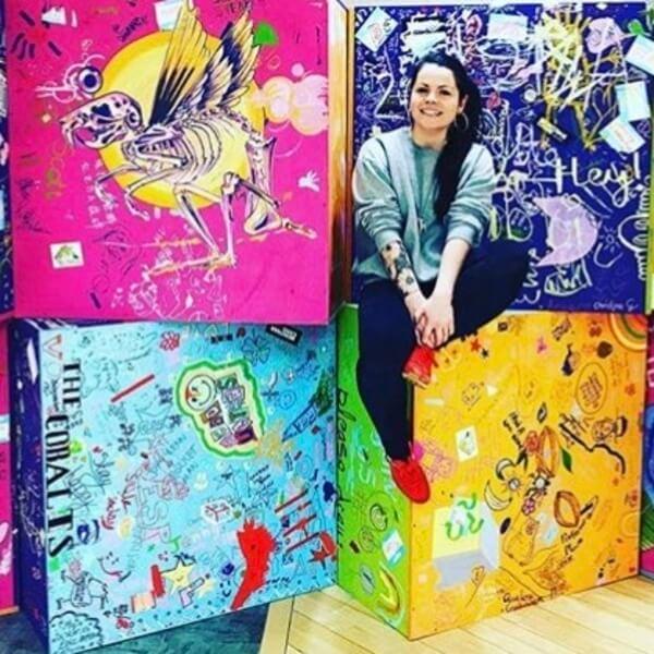 Mia McGregor Creator of The Cube Project