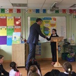 Siobhán Keenan Fitzgerald, Primary School Principal
