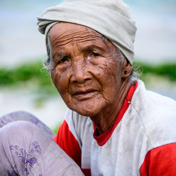 Indigenous Elder, Kalimantan