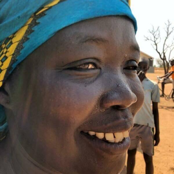 Miriam Adaru, Artolution Teaching Artist and South Sudanese refugee in Uganda